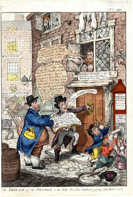 Gillray-taxation-napoleonic-wars