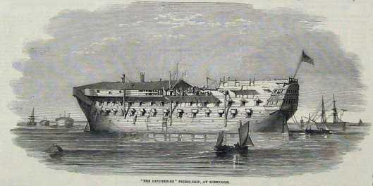 devonshire prison ship