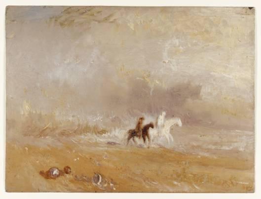 Riders on a Beach circa 1835 Joseph Mallord William Turner 1775-1851