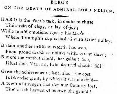 Morning Post - Wednesday 20 November 1805