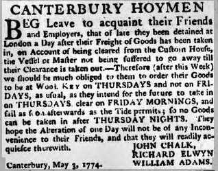 canterbury hoymen