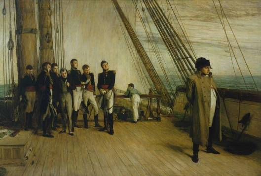 Napoleon on Board the Bellerophon exhibited 1880 by Sir William Quiller Orchardson 1832-1910