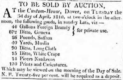 auction dover 1810